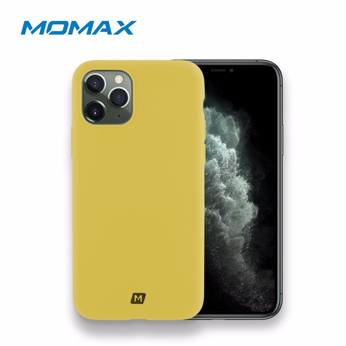 "MOMAX Silicone2.0 iPhone11-Pro 5.8"" Case (Yellow)"